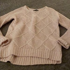 American eagle knitted pink sweater